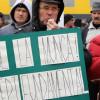 Protestul lucrătorilor din metalurgia neferoasă