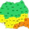 Avertizare de cod portocaliu- ploi torențiale și vânt puternic- pentru județele Tulcea și Constanța