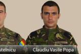 Încă doi militari români morți în Afganistan. Vasile Claudiu Popa de 28 de ani și Adrian Postelnicu de 34 de ani erau din Constanța.
