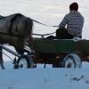 Iarnă în Dobrogea