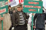 Alum-ul protestează și la București