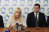 Tulcea: Lansarea PMP și inaugurarea sediului cu: Elena Udrea, Eugen Tomac, Daniel Funeriu și Victor Tarhon.