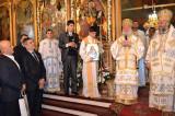 Hram la biserica Bunavestire:Şase ani de episcopat la Tulcea