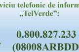 Telefonul verde al cetăţeanului