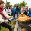 Lotca românească Sabine a fost lansată sâmbătă pe Dunăre, în Germania