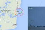 O navă cu 2600 de tone de sare și 12 oameni la bord, a eșuat la Sulina