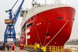 Hull 829, ultima navă din acest an lansată la apă