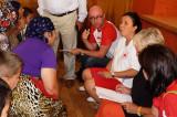 Delegație a Crucii Roșii din Suedia a venit la Babadag să înțeleagă de ce merg romii la cerșit în țările nordice