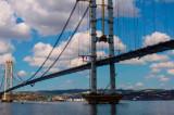 Turcii au construit un pod peste Marea Marmara în doar trei ani. Al patrulea din lume ca mărime