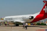 """Prima cursă charter pe Aeroportul """"Delta Dunării"""" Tulcea după modernizare"""