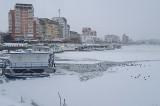 Circulaţia pe Dunăre, închisă (!)