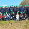 """Jandarmii tulceni solidari Campaniei  """"Luna plantării arborilor"""""""