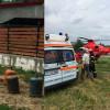 Persoane grav rănite în urma unei explozii puternice a unor butelii cu GPL