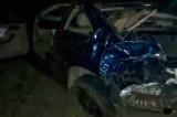 În noaptea de 14-15 noiembrie, un minor fără permis care conducea un BMW a decedat în urma unui accident cumplit, între Măcin și Hanul Grecilor