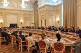 """""""Itinerar Centenar pentru jurnaliștii din comunitățile istorice"""". Jurnaliștii au cântat """"Doamne, ocrotește-i pe români"""""""