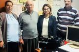 Uniunea județeană a Pensionarilor Tulcea a primit un computer, un frigider, donațiile unui parlamentar strict necesare desfășurării activității de zi cu zi
