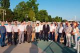 """Dezbaterea unor proiecte transfrontaliere și Festivalul """"Primăvara Dunăreană""""la Ismail, Regiunea Odessa, Ucraina"""
