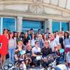 Tineri tulceni în vizită la Parlamentul României, interesați de programele start-up pentru tineret
