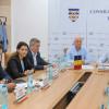 Dezbatere privind accesarea de finanțare europeană pentru proiecte comune între orașul Izmail (Ucraina) și județul Tulcea (Romania)