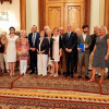 Întrevederea reprezentanților Comisiei pentru politică externă a Camerei Deputaților cu delegația Asociației foștilor deputați din Bundenstag și din Parlamentul European