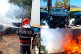 Zile de foc în județul Tulcea: trei morți, 6 răniți, mai multe incendii
