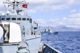 """Fregata """"Regele Ferdinandˮ la exercițiul multinațional de luptă antisubmarin """"Mavi Balina"""", Turcia"""