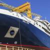 Navă de croazieră lansată la apă de Șantierul Naval Vard Tulcea