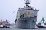 """Vizita în portul Constanța a navei de desant """"USS Fort McHenry"""""""