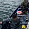 Barcă pescărească ce plutea în derivă pe Marea Neagră, salvată de polițiștii de frontieră