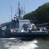 """Militarii de la Flotila Fluvială """"Mihail Kogălniceanu""""execută un marș de instrucție pe Dunăre"""