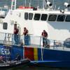 Pescador turcesc la braconat s-a scufundat în Marea Neagră. Supraîncăcat, nu a răspuns somațiilor legale