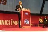 La solicitarea filialei Tulcea, Eugen Teodorovici (senator Tulcea și Ministru de Finanțe) a reintrat în cursă și a câștigat funcția de președinte executiv al PSD