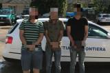 Trei persoane au vrut să intre in România ilegal, trecând graniţa verde pe jos