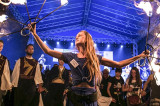 """Grecii Ansamblului artistic """"Artemis"""" din Sulina au adus spiritul Dobrogei în Cetatea Sighișoarei, la Pro Etnica"""