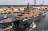 Cea mai mare navă de cercetare din lume a fost construită la Tulcea. Un oraș științific plutitor, navă de croazieră la Polul Nord