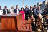 """Salutăm cu prețuire și respect, sosirea la Tulcea a Bricului """"Mircea"""", nava școală și simbol al Marinei Române"""