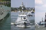 300 de marinari și flotele militare ale României şi ale Ucrainei execută intervenții și manevre tactice pe Dunăre, în zona Tulcei