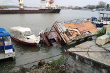 Lady Siria a lovit portul Tulcea(!)