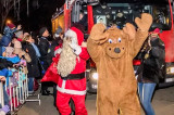 """Moş Crăciun a ajuns în Tărâmul Magic cu ajutorul… pompierilor de la I.S.U. """"Dobrogea"""""""