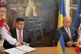 """S-a semnat """"Înțelegerea de Cooperare"""" între Județul Tulcea (România) și orașul Izmail (Ucraina)"""