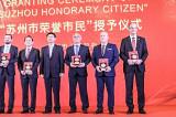 Președintele Consiliului Județean Tulcea, cetățean de onoare al Orașului Suzhou din China