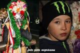 6 Decembrie-6 Ianuarie: Sărbătoarea Moșoaielor la Luncavița. Zgomotul produs de cioaie și de talangă pregătește noul an.