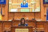 """Deputat Mirela Furtună: """"În anul Centenarului Marii Uniri, eforturile diplomației românești trebuie să fie și mai puternice în apărarea drepturilor românilor din Ucraina"""""""