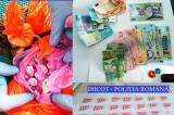 Droguri găsite la turiști italieni pe litoral. Ecstasy, cocaină, MDMA, ketamină, cannabis.