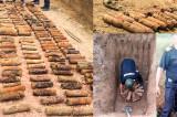 Cel mai mare depozit de proiectile din cel de-al doilea război mondial descoperite și distruse în mod controlat la Baia