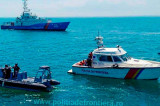 O ambarcațiune cu opt turiști s-a răsturnat în zona golfului Musura, aproape de Sulina