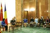 Întrevedere cu delegaţia condusă de Shen Yueyue, Președintele Federației Femeilor din întreaga Chină