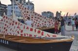 Tulcea: RowmaniaFEST, la cea de-a opta ediție, a lansat Flotila Centanar
