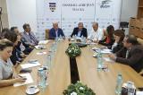 Întâlnire de lucru pentru urgentarea lucrărilor privind proiectul Pod suspendat peste Dunăre, Brăila-Măcin