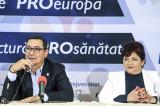 Pro România este singurul partid care are o echipă de profesionişti care a guvernat şi poate guverna foarte bine această ţară.